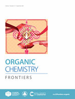 Organic Chemistry Frontiers 期刊封面